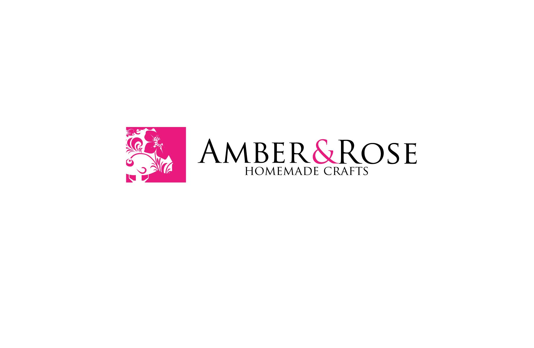 Logo Design by Jan Chua - Entry No. 19 in the Logo Design Contest Creative Logo Design for Amber & Rose.