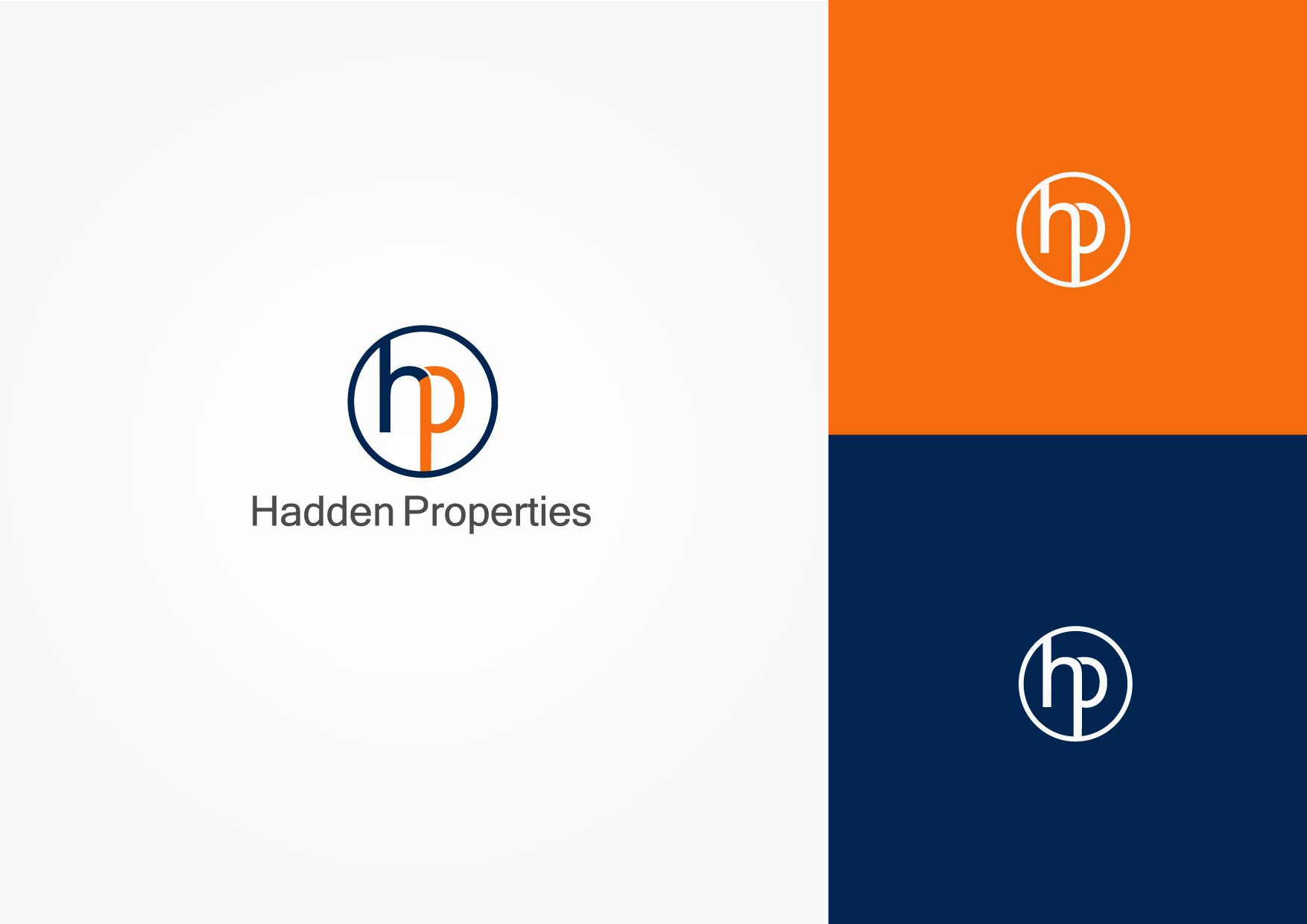 Logo Design by Osi Indra - Entry No. 114 in the Logo Design Contest Artistic Logo Design for Hadden Properties.