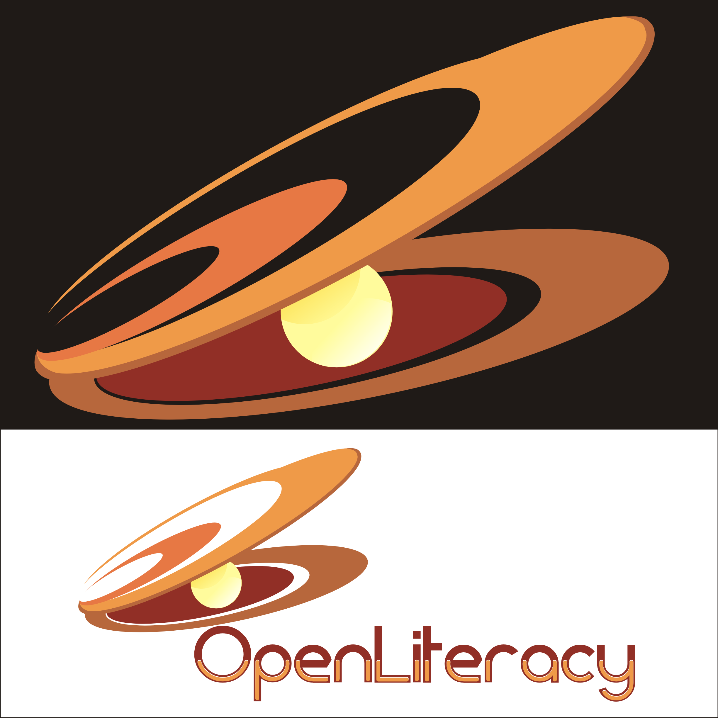 Logo Design by Private User - Entry No. 129 in the Logo Design Contest Inspiring Logo Design for OpenLiteracy.