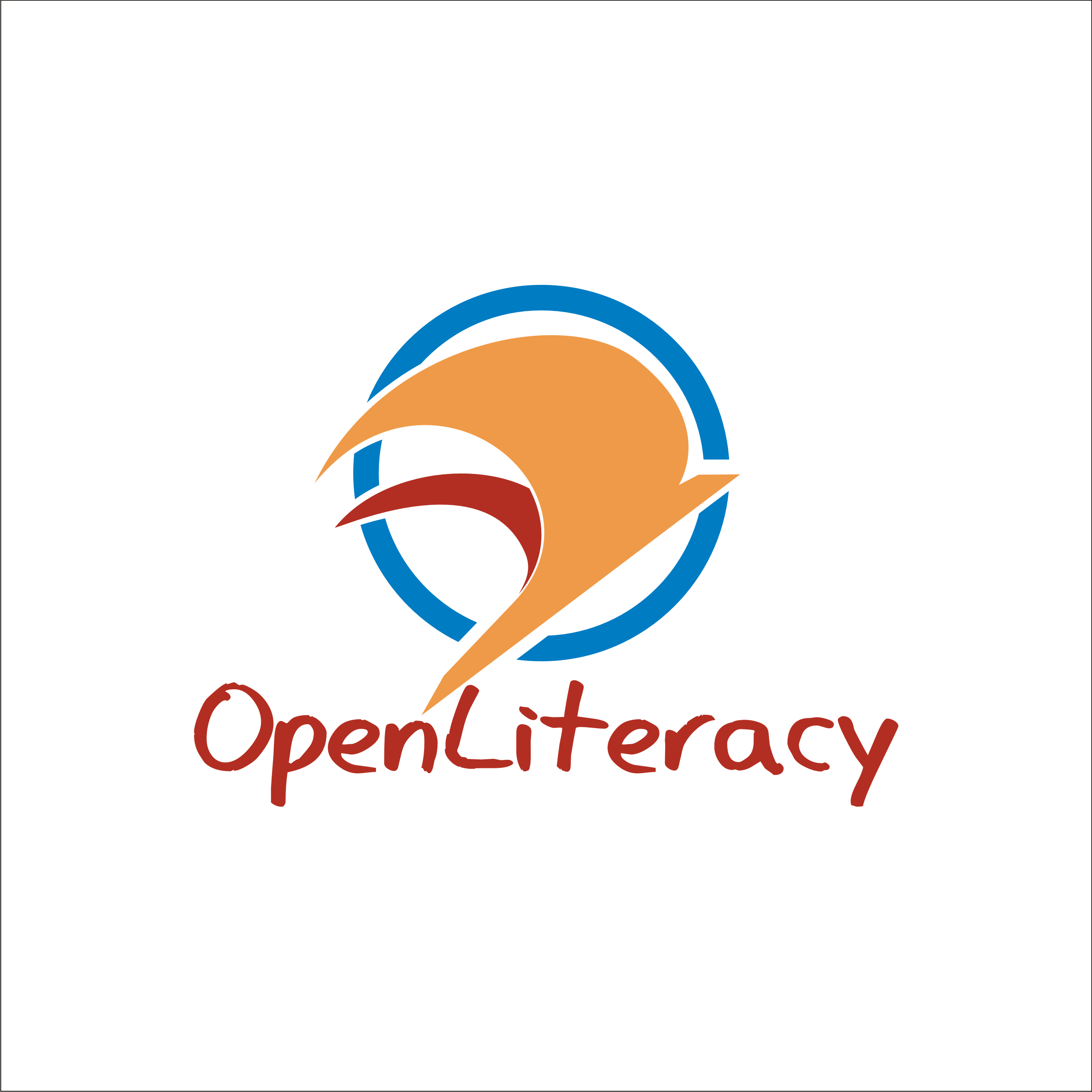 Logo Design by Private User - Entry No. 131 in the Logo Design Contest Inspiring Logo Design for OpenLiteracy.