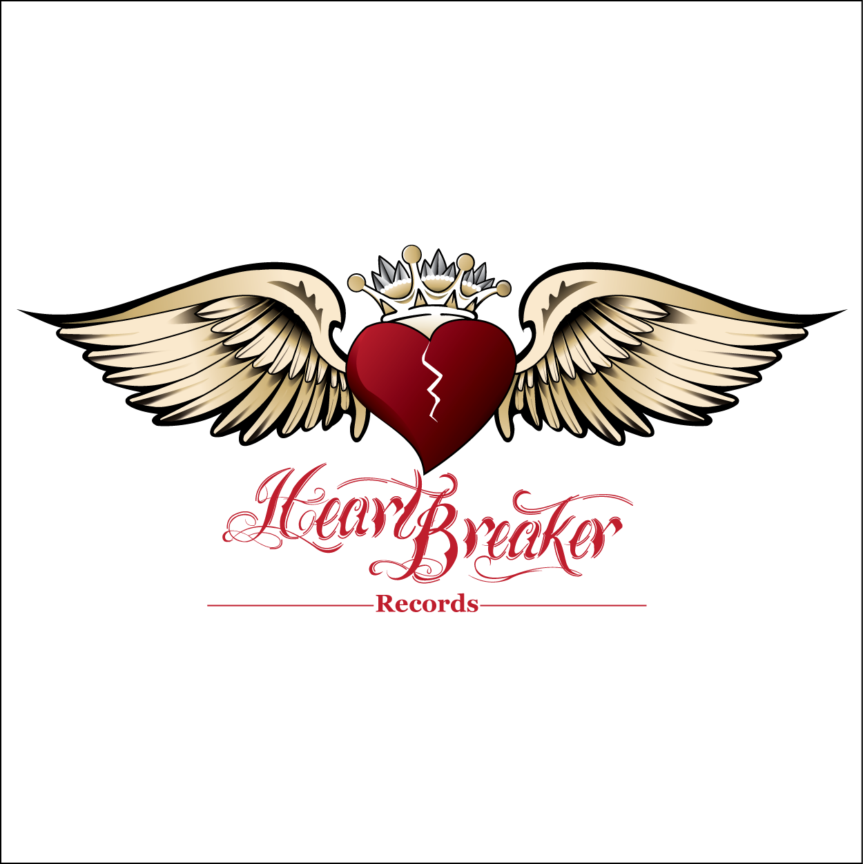 Logo Design by trabas - Entry No. 58 in the Logo Design Contest Heartbreaker Records.