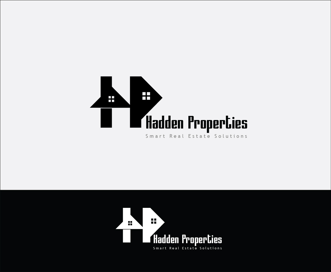 Logo Design by Derel Valarian - Entry No. 117 in the Logo Design Contest Artistic Logo Design for Hadden Properties.