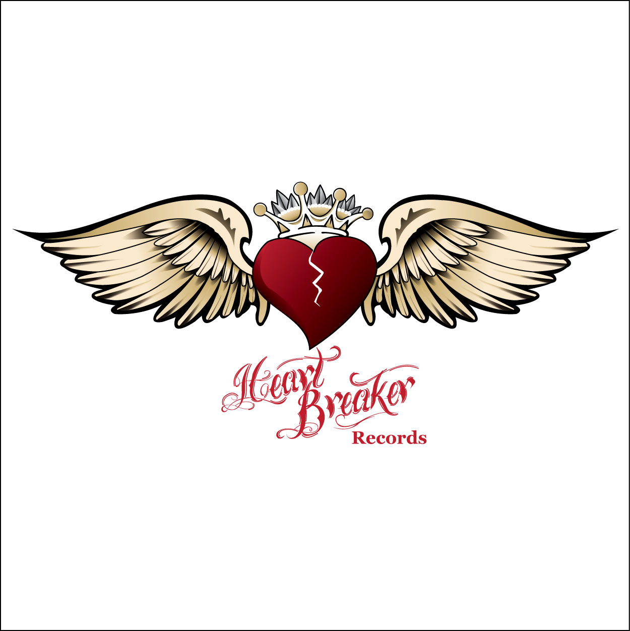 Logo Design by trabas - Entry No. 59 in the Logo Design Contest Heartbreaker Records.