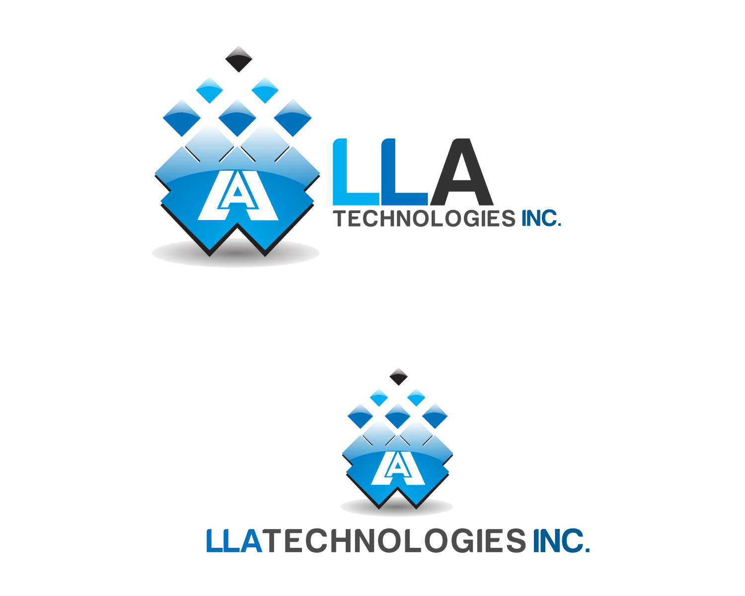 Logo Design by Jagdeep Singh - Entry No. 115 in the Logo Design Contest Inspiring Logo Design for LLA Technologies Inc..