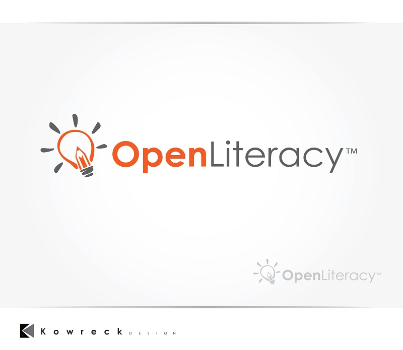 Logo Design by kowreck - Entry No. 137 in the Logo Design Contest Inspiring Logo Design for OpenLiteracy.