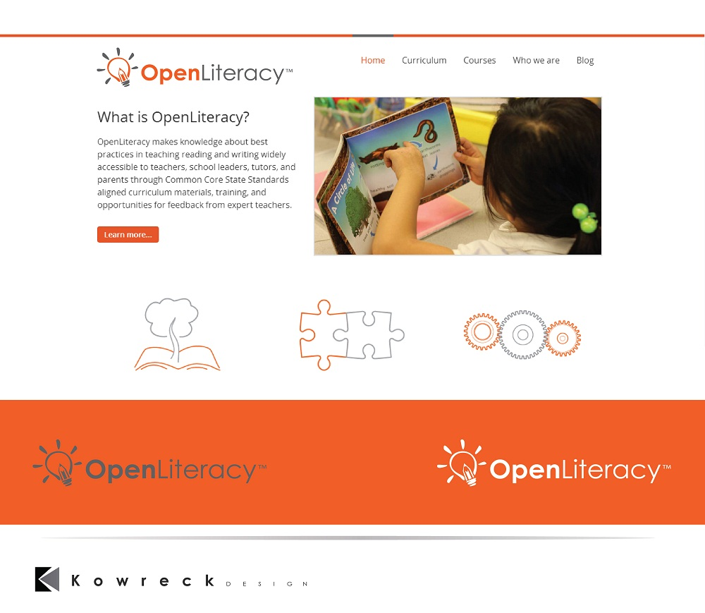 Logo Design by kowreck - Entry No. 138 in the Logo Design Contest Inspiring Logo Design for OpenLiteracy.