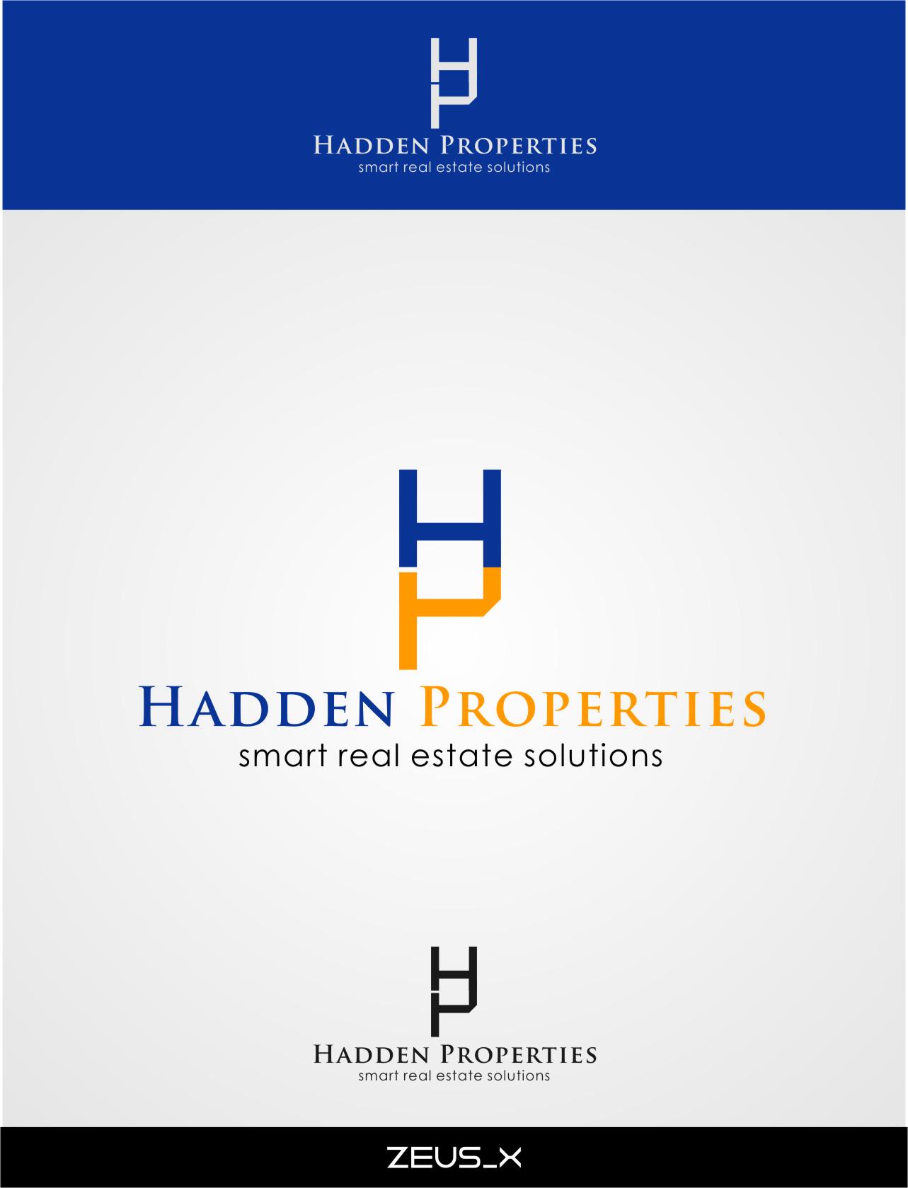 Logo Design by RasYa Muhammad Athaya - Entry No. 121 in the Logo Design Contest Artistic Logo Design for Hadden Properties.