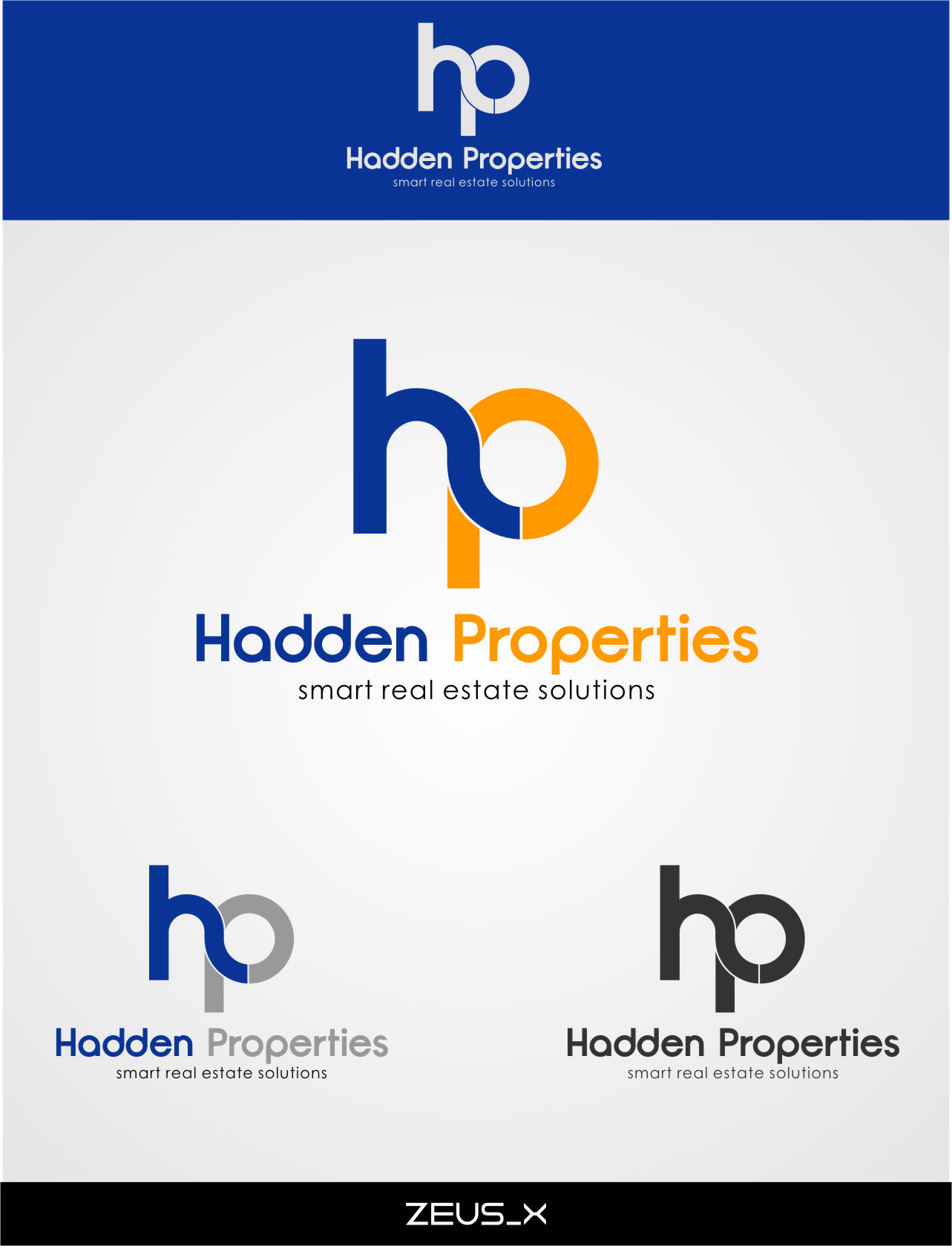 Logo Design by Ngepet_art - Entry No. 122 in the Logo Design Contest Artistic Logo Design for Hadden Properties.