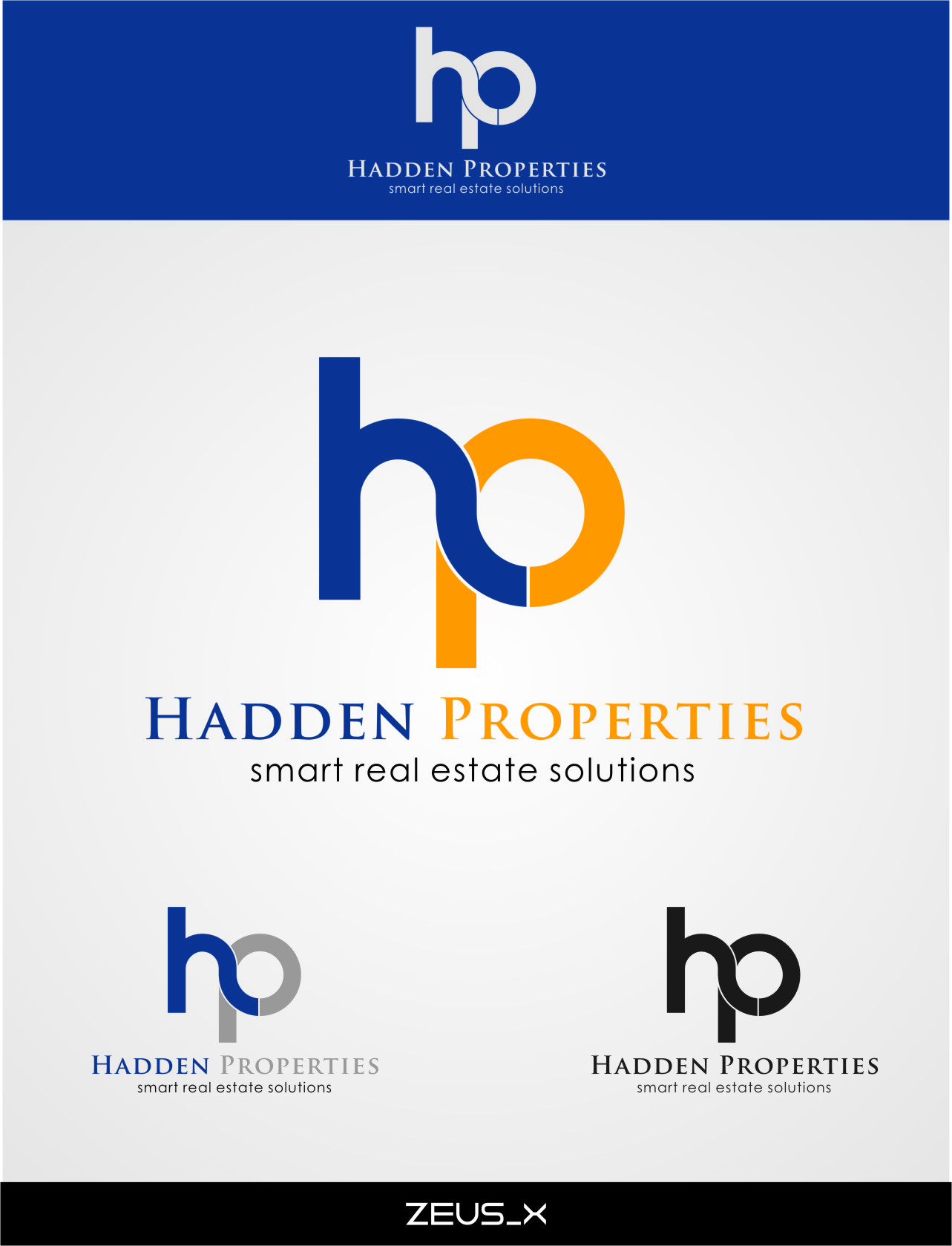 Logo Design by RasYa Muhammad Athaya - Entry No. 123 in the Logo Design Contest Artistic Logo Design for Hadden Properties.