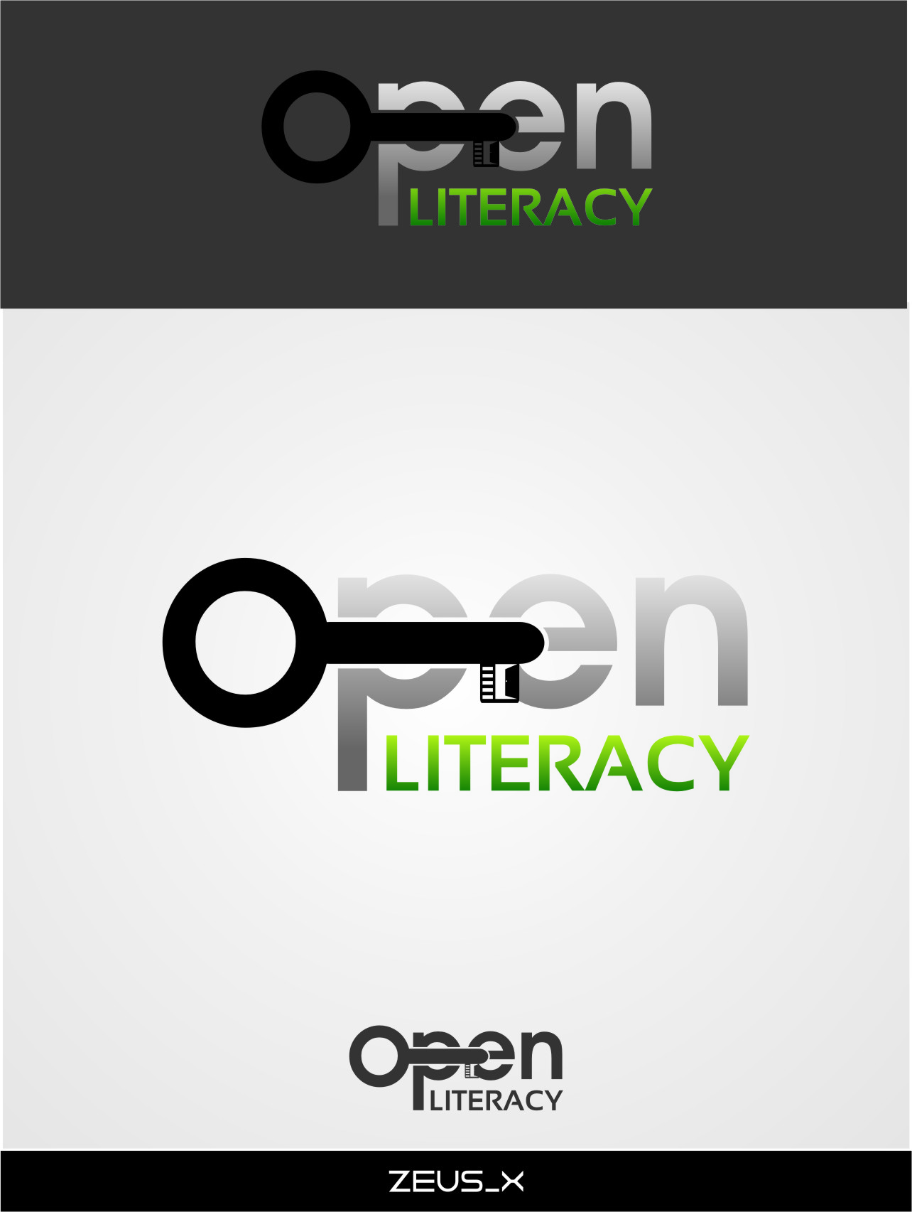 Logo Design by Ngepet_art - Entry No. 141 in the Logo Design Contest Inspiring Logo Design for OpenLiteracy.