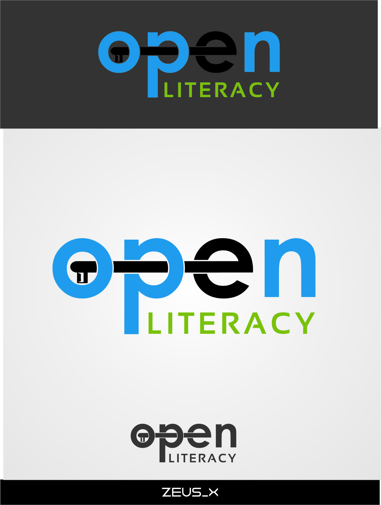 Logo Design by Ngepet_art - Entry No. 142 in the Logo Design Contest Inspiring Logo Design for OpenLiteracy.
