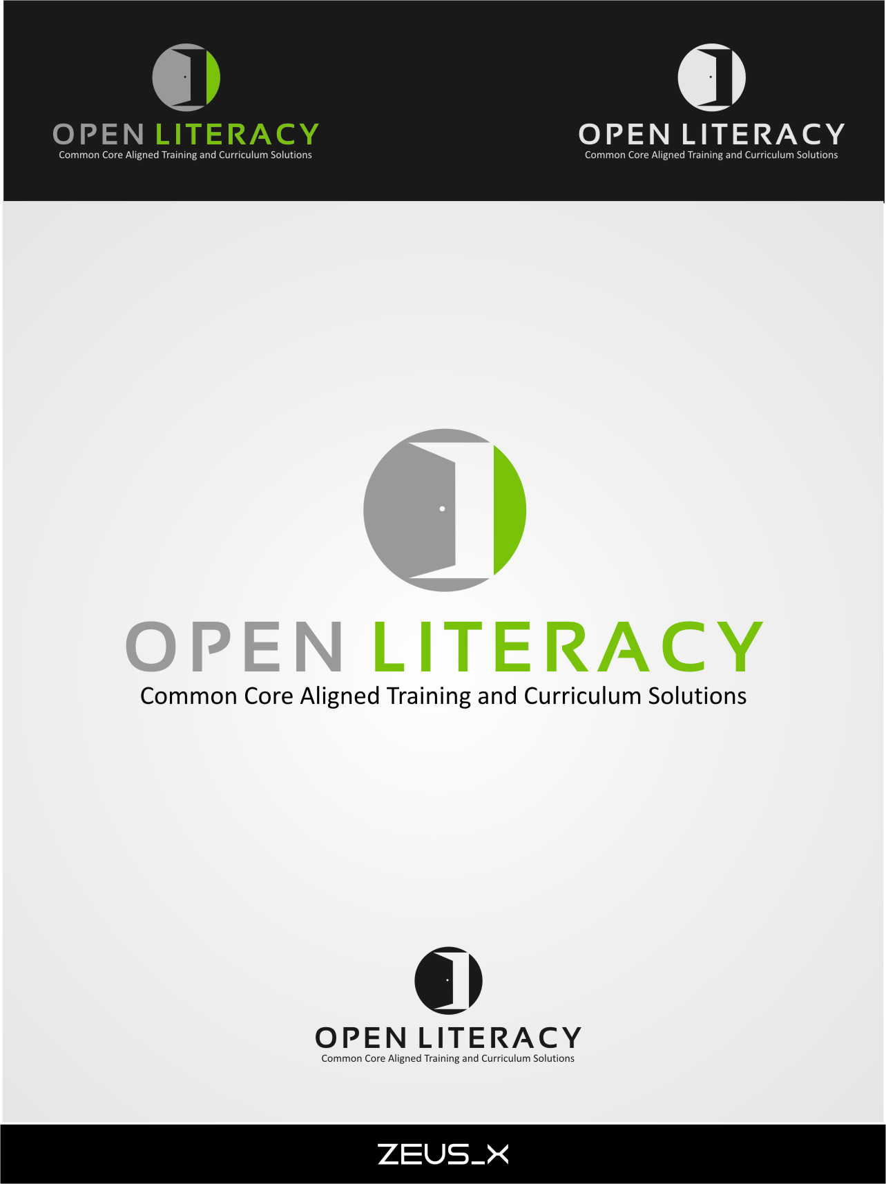 Logo Design by RasYa Muhammad Athaya - Entry No. 143 in the Logo Design Contest Inspiring Logo Design for OpenLiteracy.