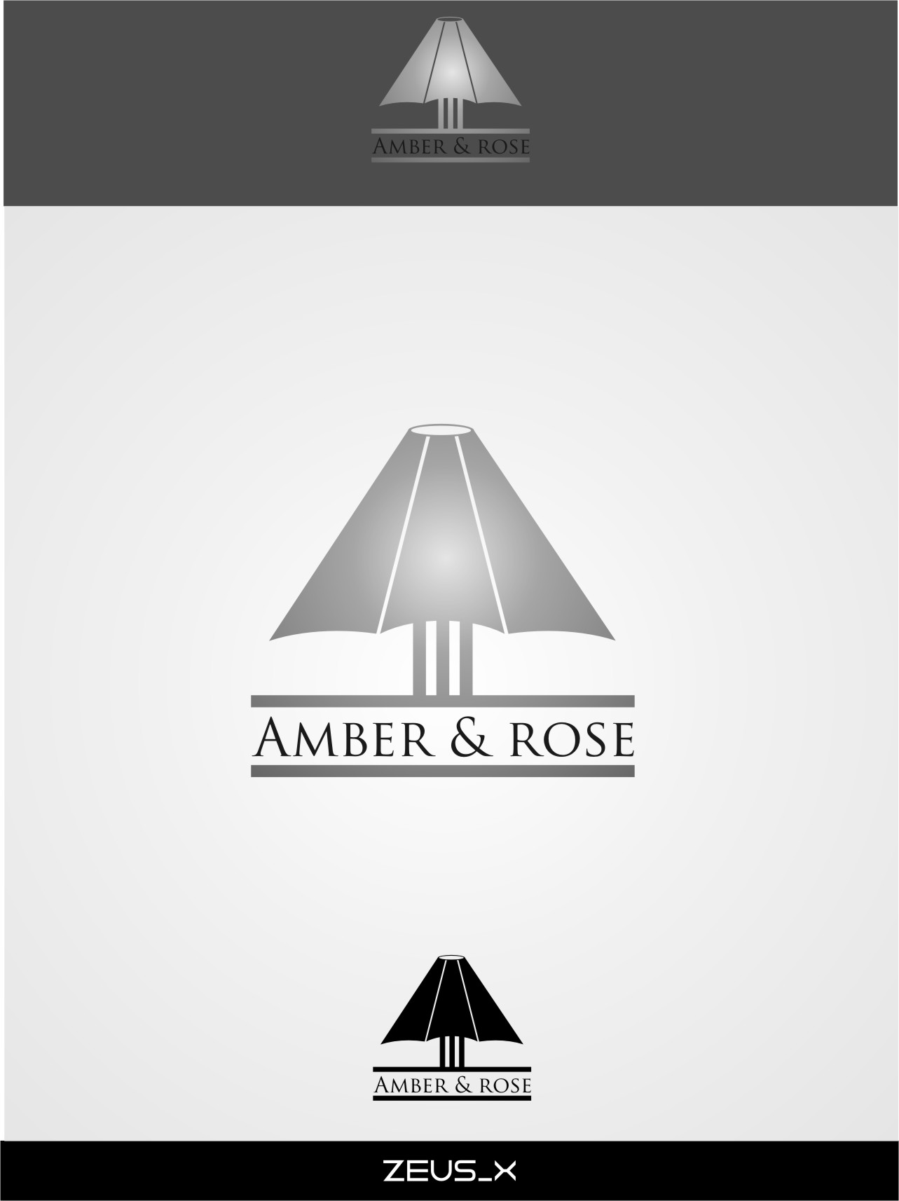 Logo Design by RoSyid Rono-Rene On Java - Entry No. 22 in the Logo Design Contest Creative Logo Design for Amber & Rose.