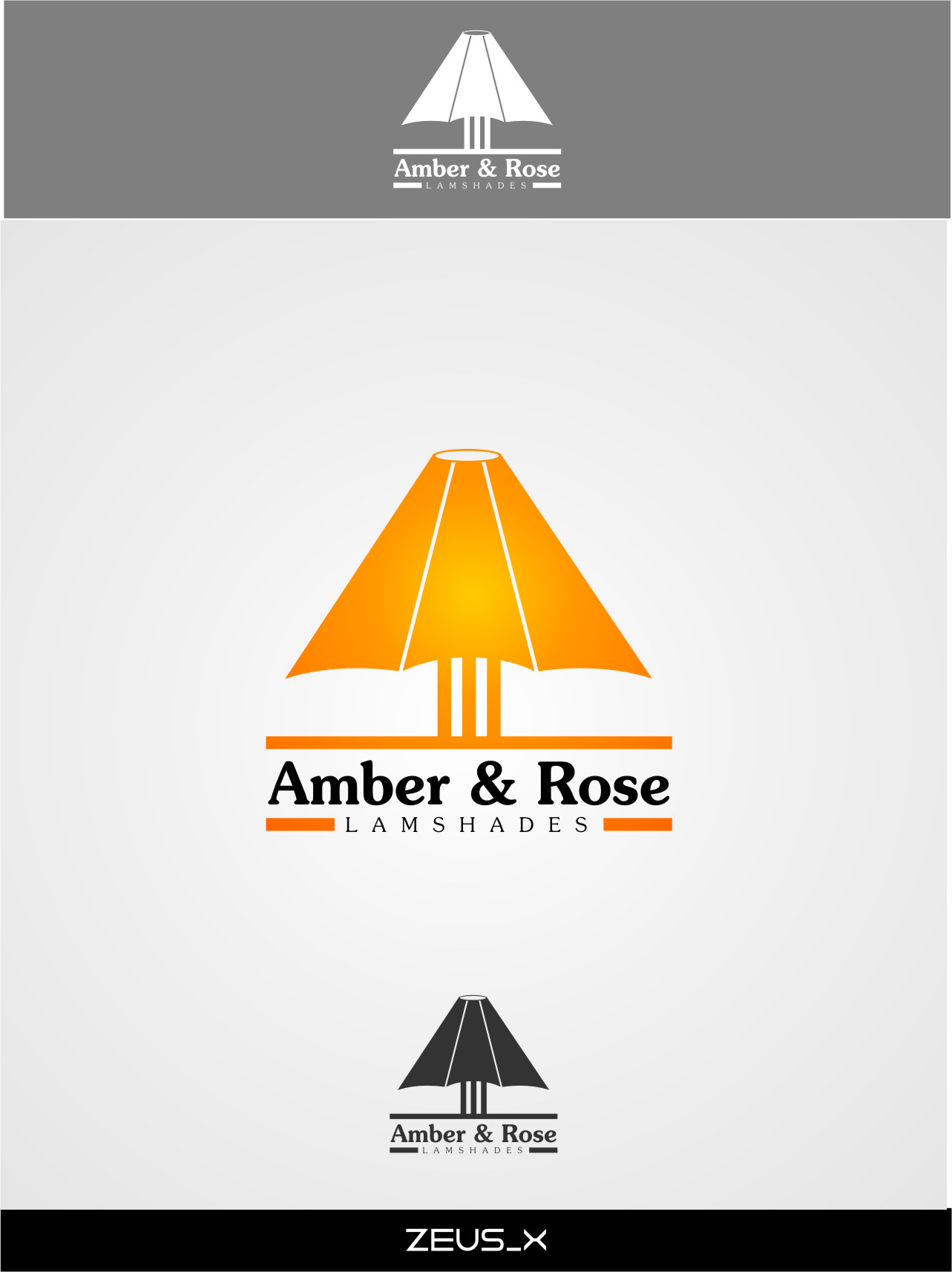 Logo Design by Ngepet_art - Entry No. 23 in the Logo Design Contest Creative Logo Design for Amber & Rose.