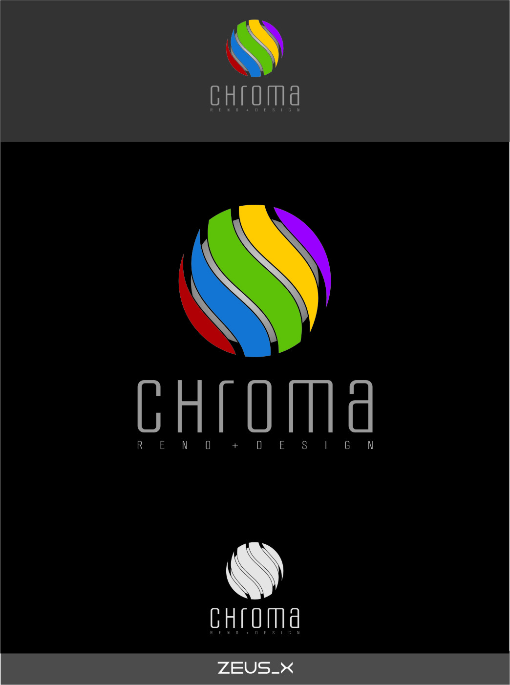 Logo Design by RasYa Muhammad Athaya - Entry No. 183 in the Logo Design Contest Inspiring Logo Design for Chroma Reno+Design.