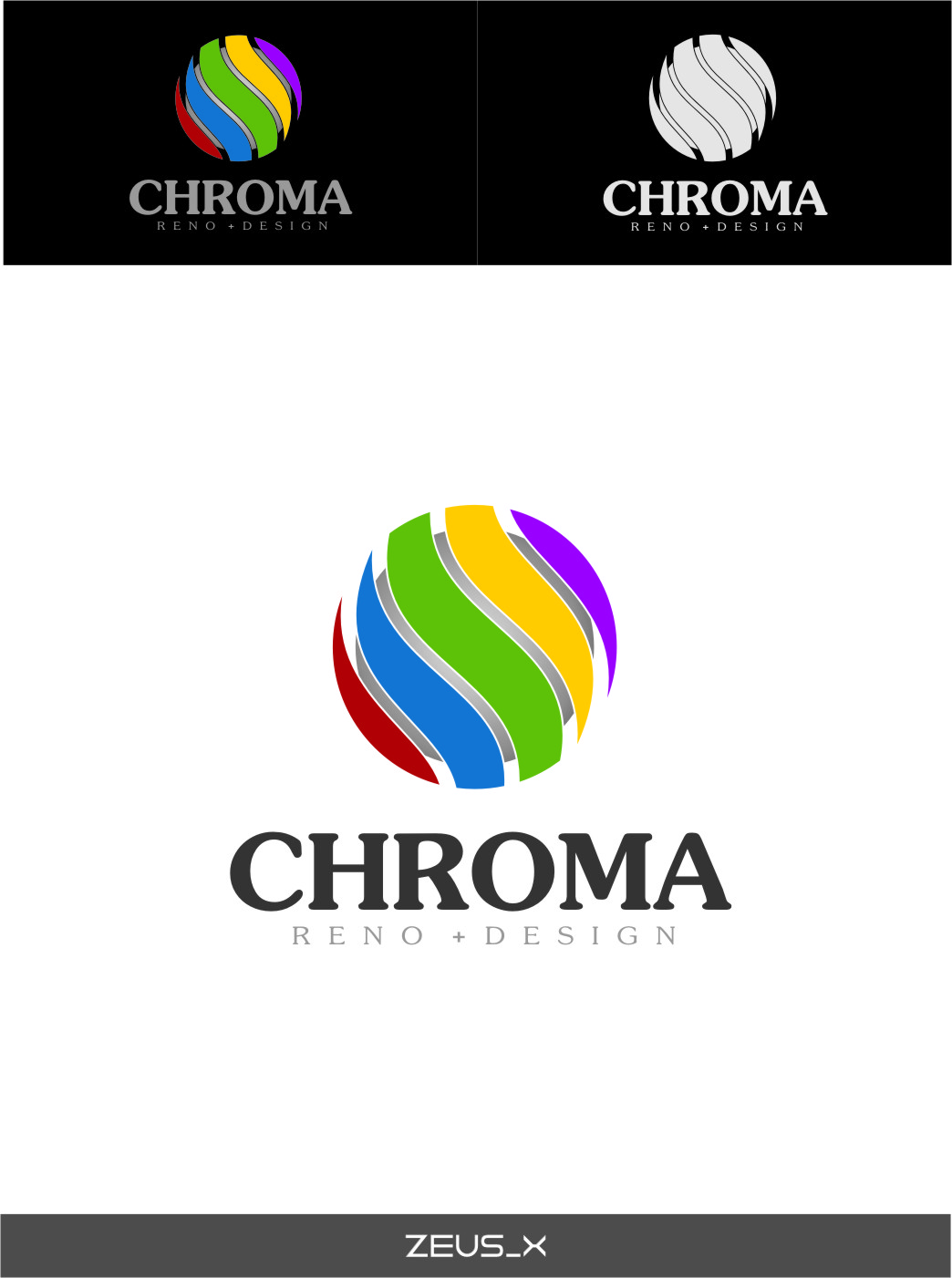 Logo Design by RoSyid Rono-Rene On Java - Entry No. 184 in the Logo Design Contest Inspiring Logo Design for Chroma Reno+Design.