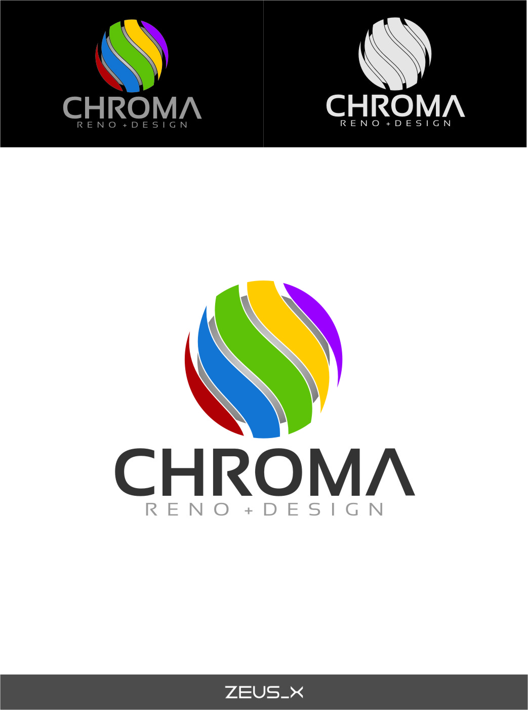 Logo Design by RasYa Muhammad Athaya - Entry No. 185 in the Logo Design Contest Inspiring Logo Design for Chroma Reno+Design.