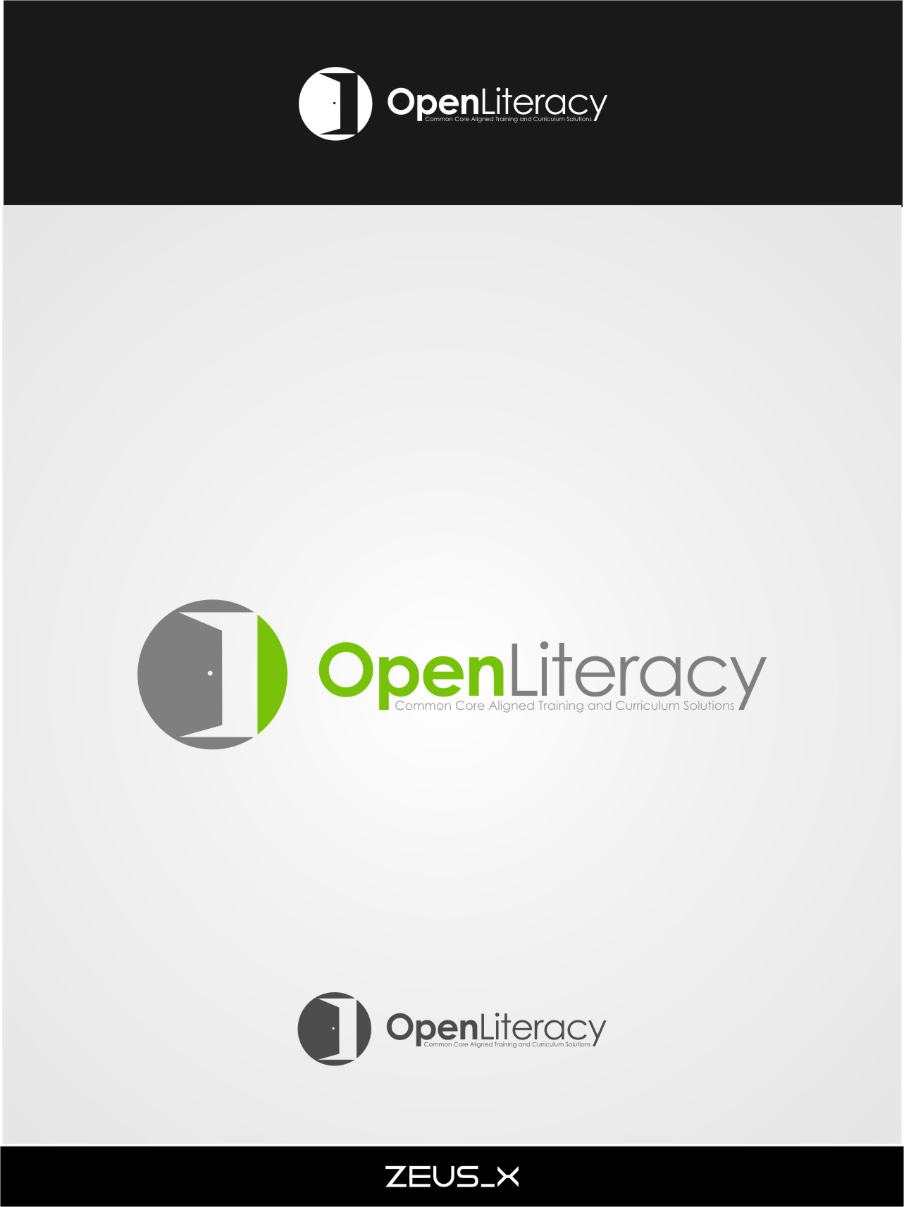 Logo Design by RasYa Muhammad Athaya - Entry No. 144 in the Logo Design Contest Inspiring Logo Design for OpenLiteracy.