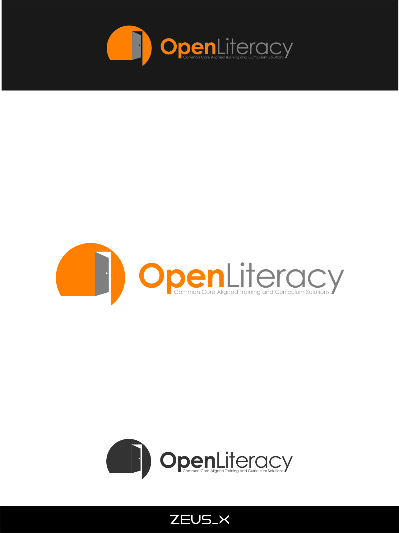 Logo Design by Ngepet_art - Entry No. 147 in the Logo Design Contest Inspiring Logo Design for OpenLiteracy.