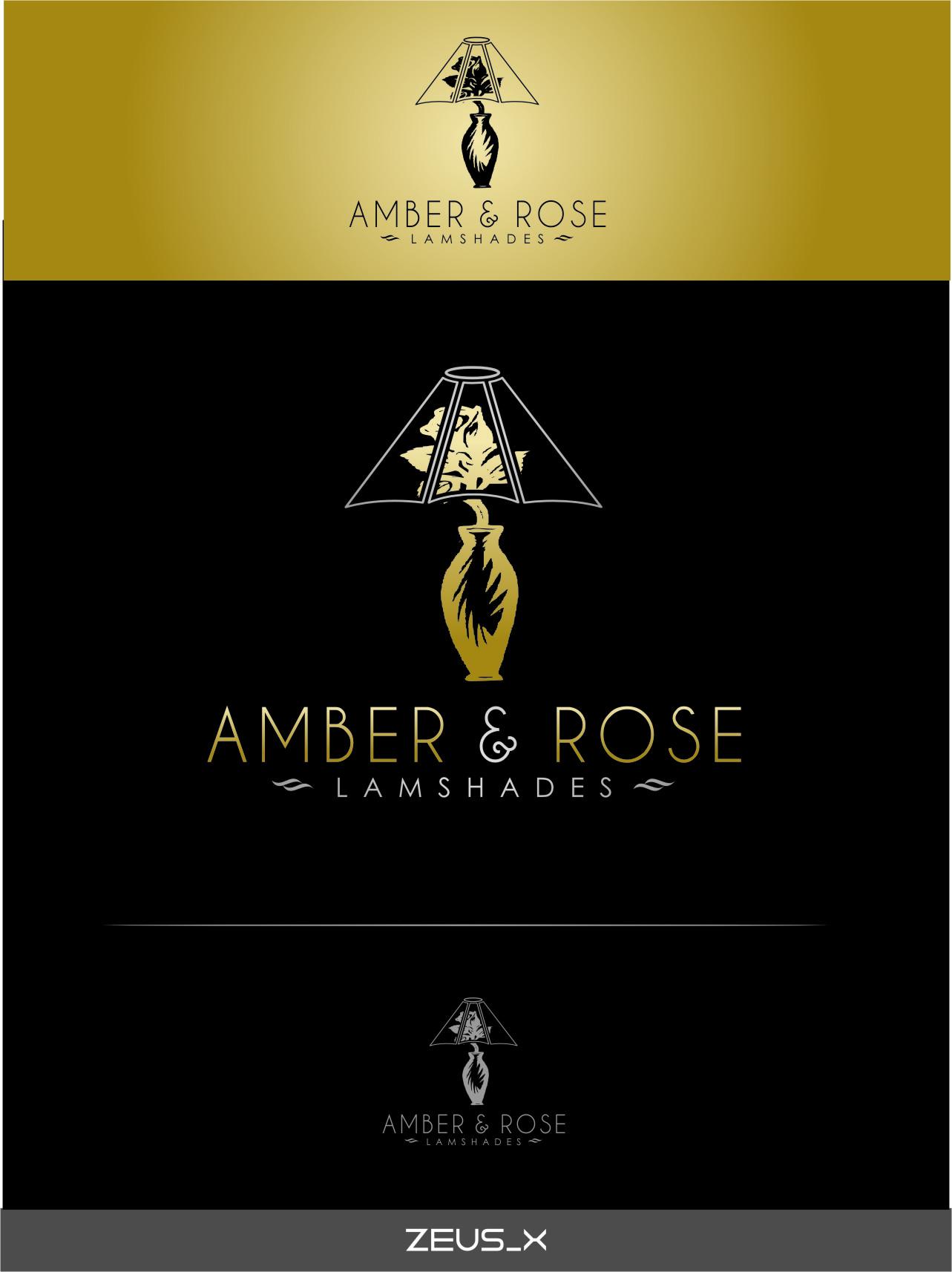 Logo Design by Ngepet_art - Entry No. 24 in the Logo Design Contest Creative Logo Design for Amber & Rose.