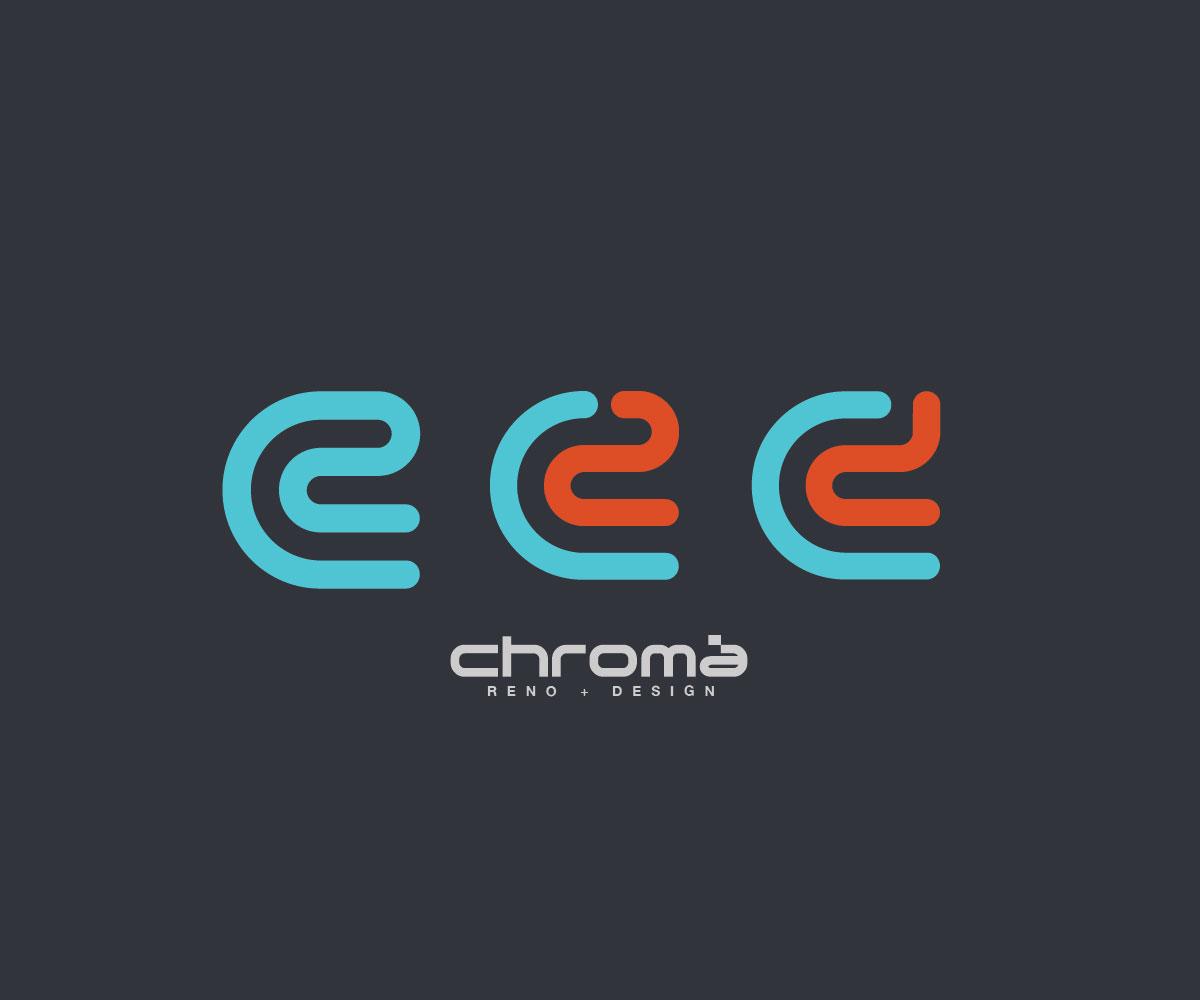 Logo Design by Redsoul - Entry No. 189 in the Logo Design Contest Inspiring Logo Design for Chroma Reno+Design.