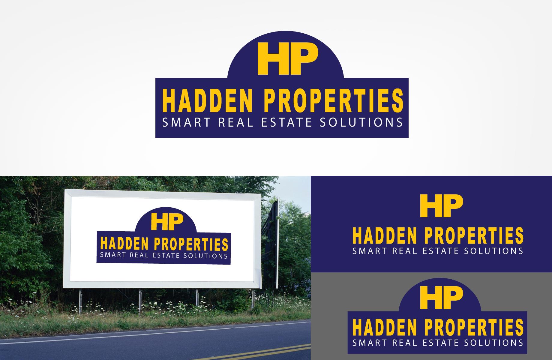Logo Design by Jan Chua - Entry No. 127 in the Logo Design Contest Artistic Logo Design for Hadden Properties.