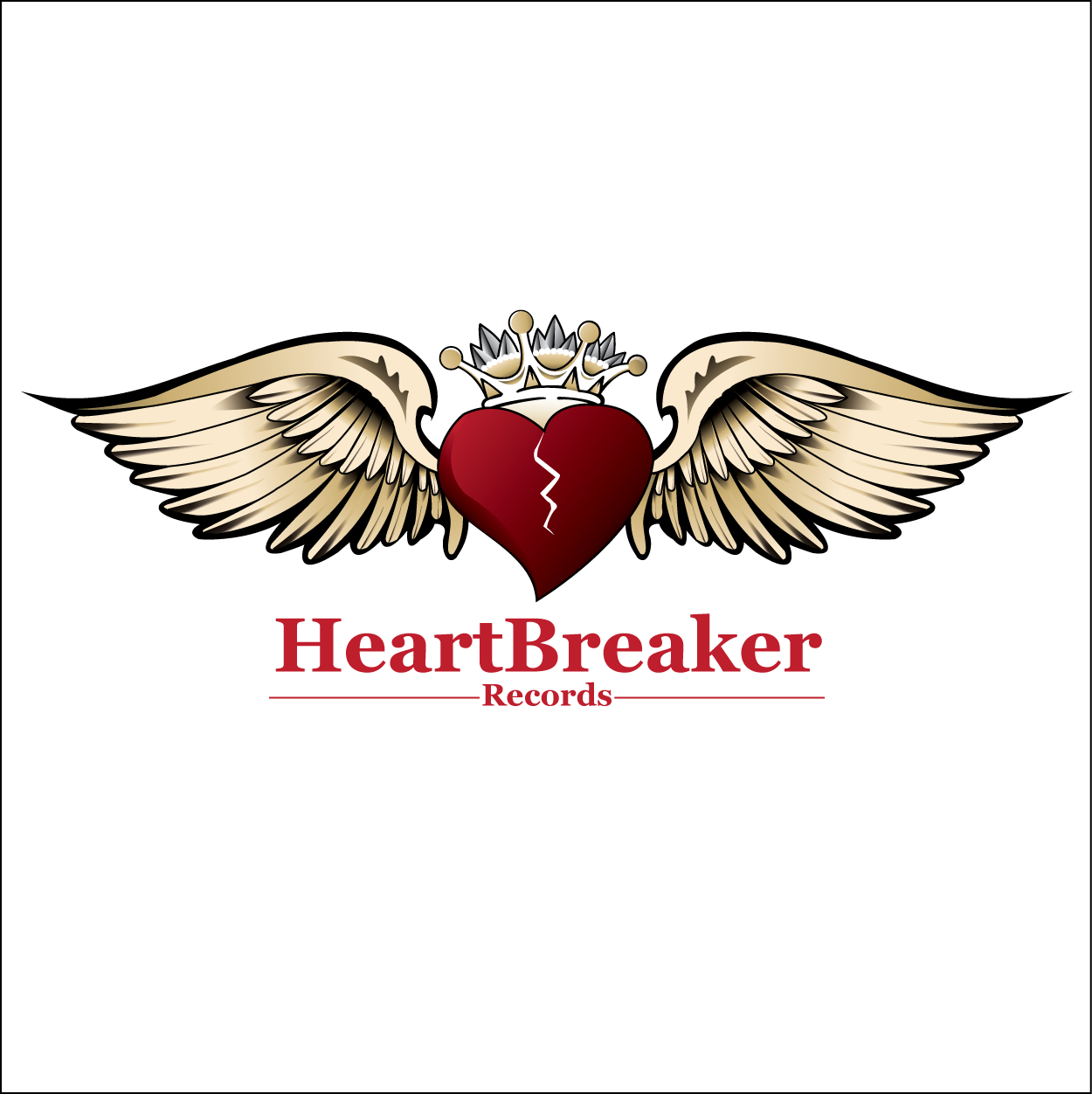 Logo Design by trabas - Entry No. 60 in the Logo Design Contest Heartbreaker Records.