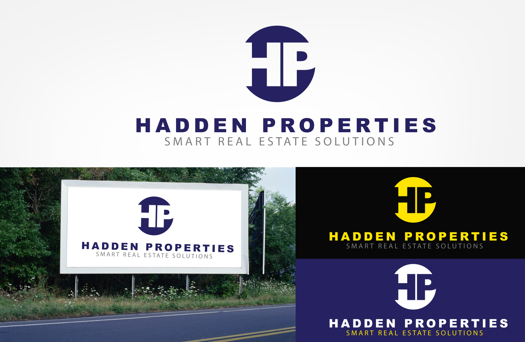 Logo Design by Jan Chua - Entry No. 129 in the Logo Design Contest Artistic Logo Design for Hadden Properties.