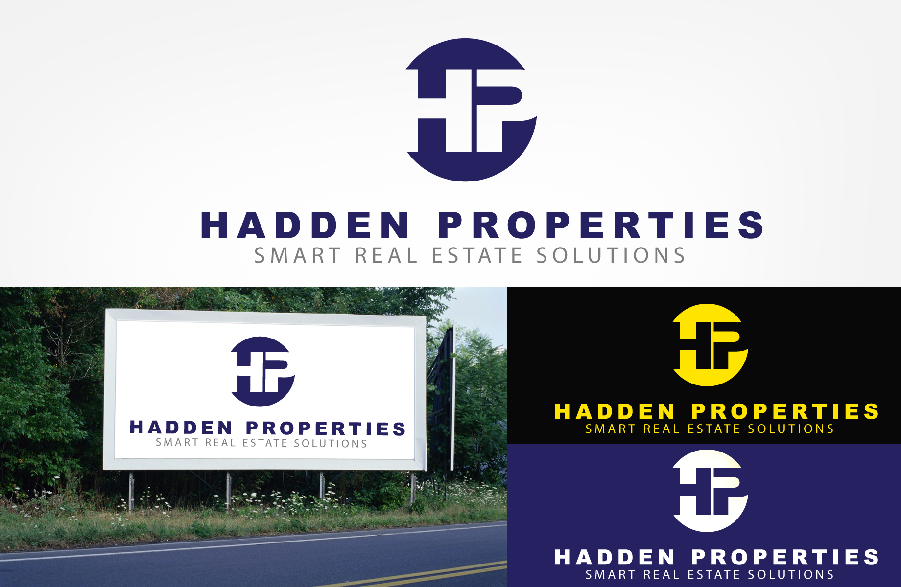 Logo Design by Jan Chua - Entry No. 131 in the Logo Design Contest Artistic Logo Design for Hadden Properties.