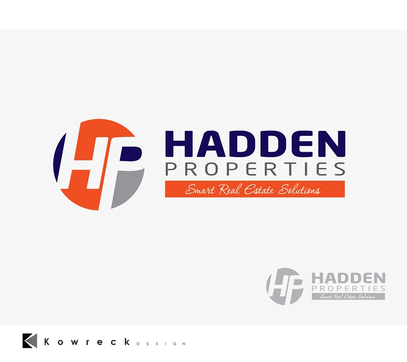 Logo Design by kowreck - Entry No. 133 in the Logo Design Contest Artistic Logo Design for Hadden Properties.