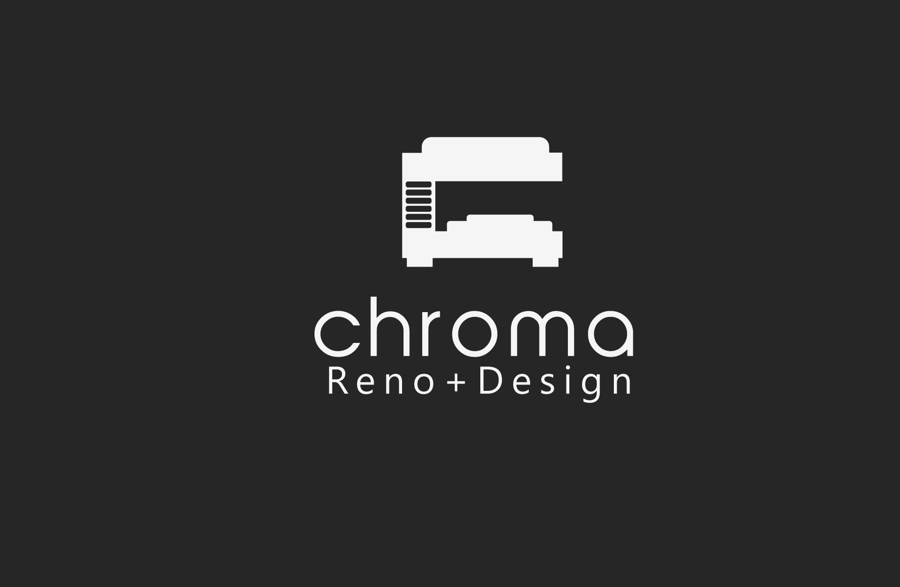 Logo Design by Jan Chua - Entry No. 190 in the Logo Design Contest Inspiring Logo Design for Chroma Reno+Design.