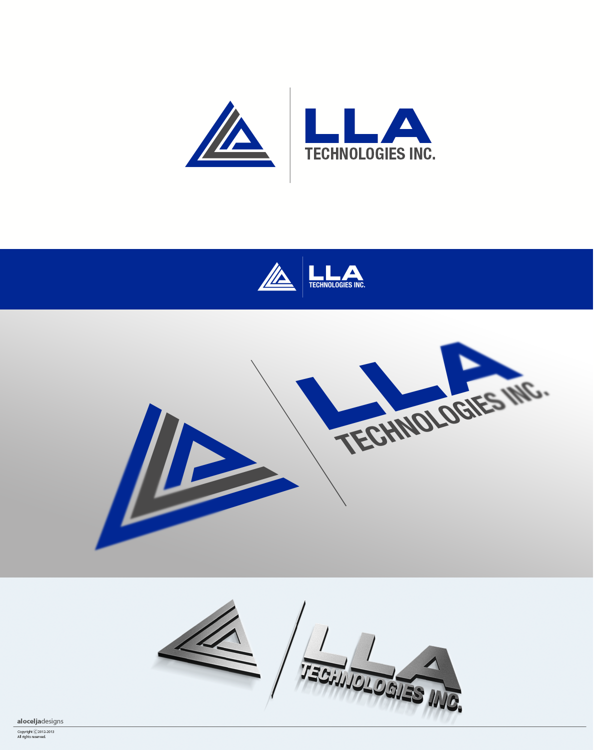 Logo Design by alocelja - Entry No. 124 in the Logo Design Contest Inspiring Logo Design for LLA Technologies Inc..