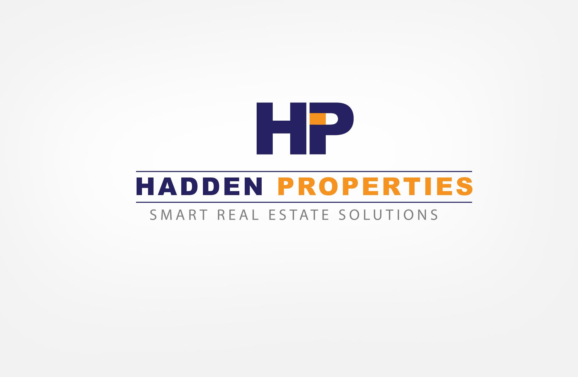 Logo Design by Jan Chua - Entry No. 137 in the Logo Design Contest Artistic Logo Design for Hadden Properties.