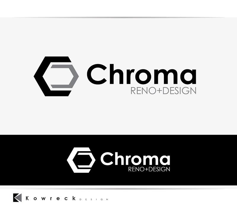 Logo Design by kowreck - Entry No. 194 in the Logo Design Contest Inspiring Logo Design for Chroma Reno+Design.