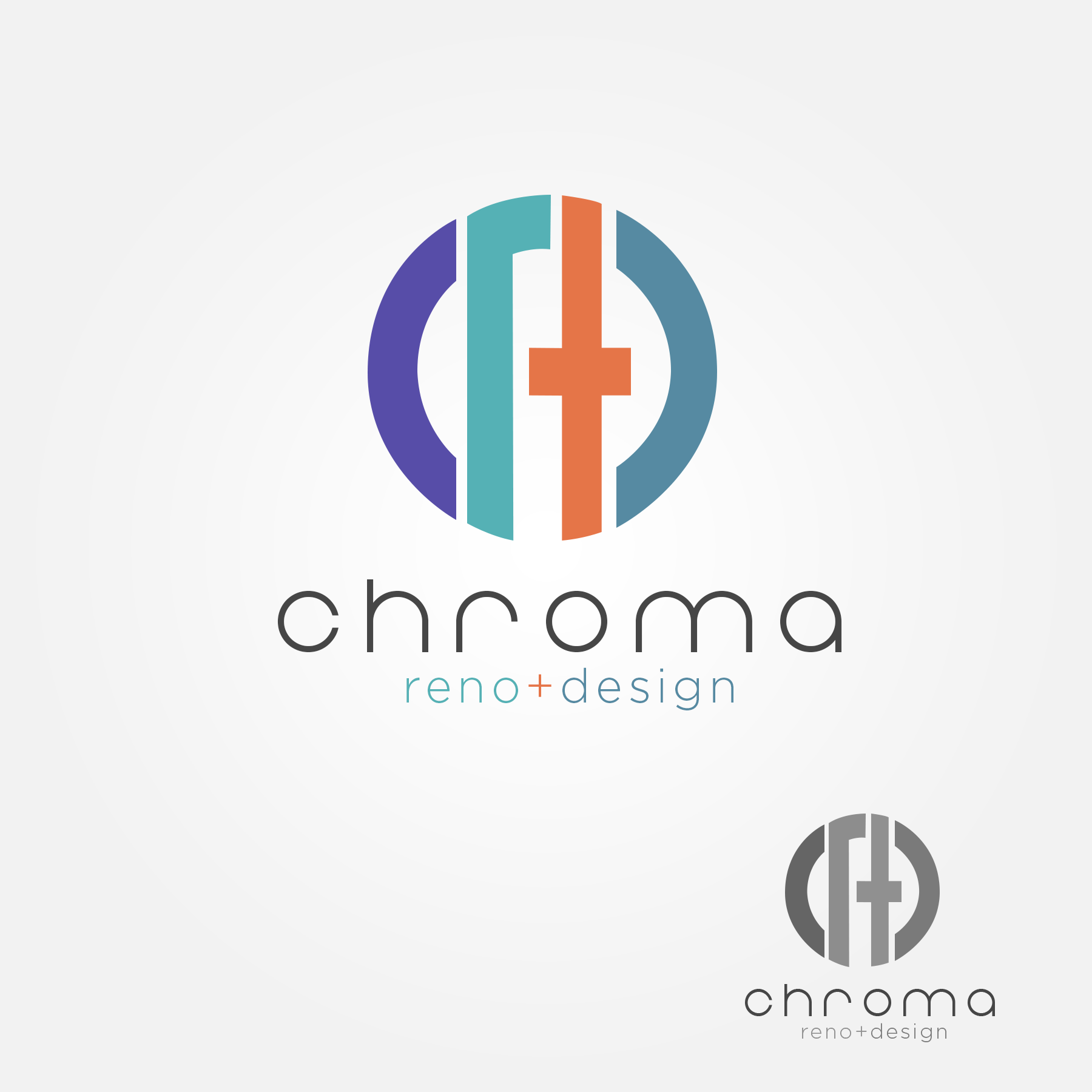 Logo Design by Lemuel Arvin Tanzo - Entry No. 195 in the Logo Design Contest Inspiring Logo Design for Chroma Reno+Design.