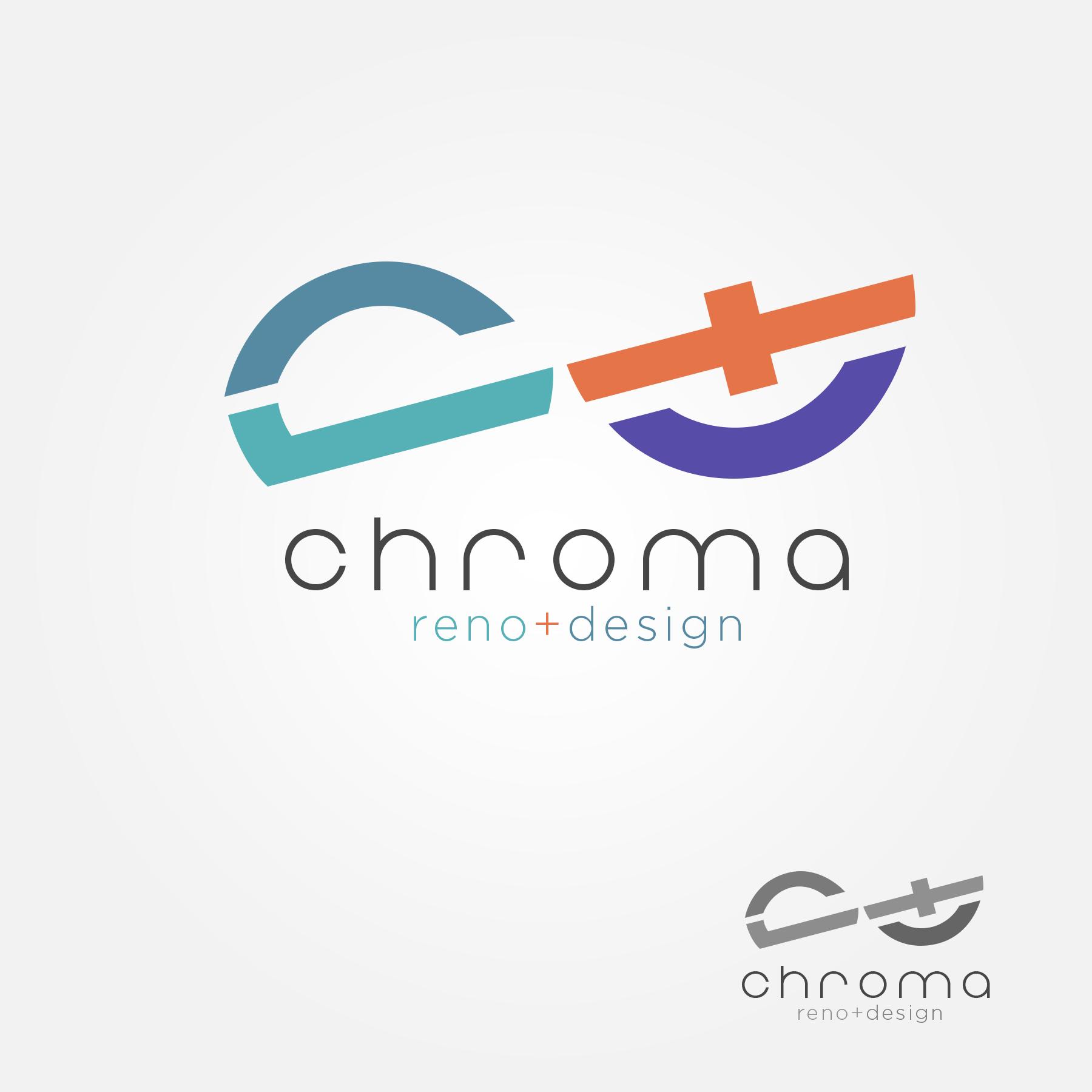 Logo Design by Lemuel Arvin Tanzo - Entry No. 196 in the Logo Design Contest Inspiring Logo Design for Chroma Reno+Design.
