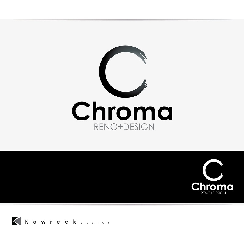 Logo Design by kowreck - Entry No. 197 in the Logo Design Contest Inspiring Logo Design for Chroma Reno+Design.
