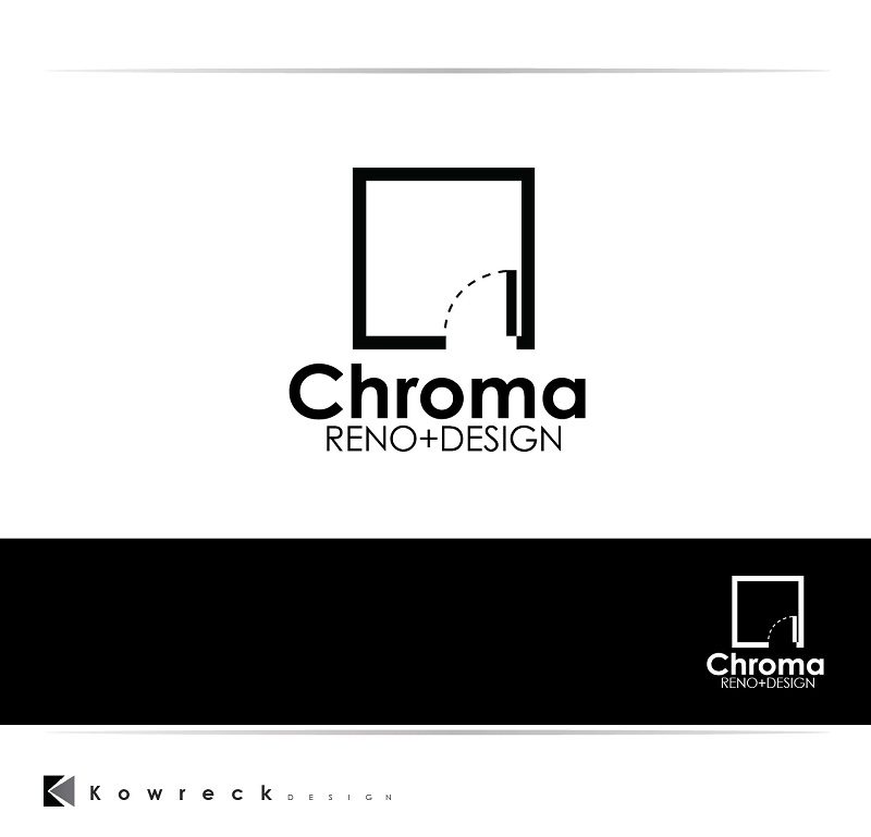 Logo Design by kowreck - Entry No. 198 in the Logo Design Contest Inspiring Logo Design for Chroma Reno+Design.