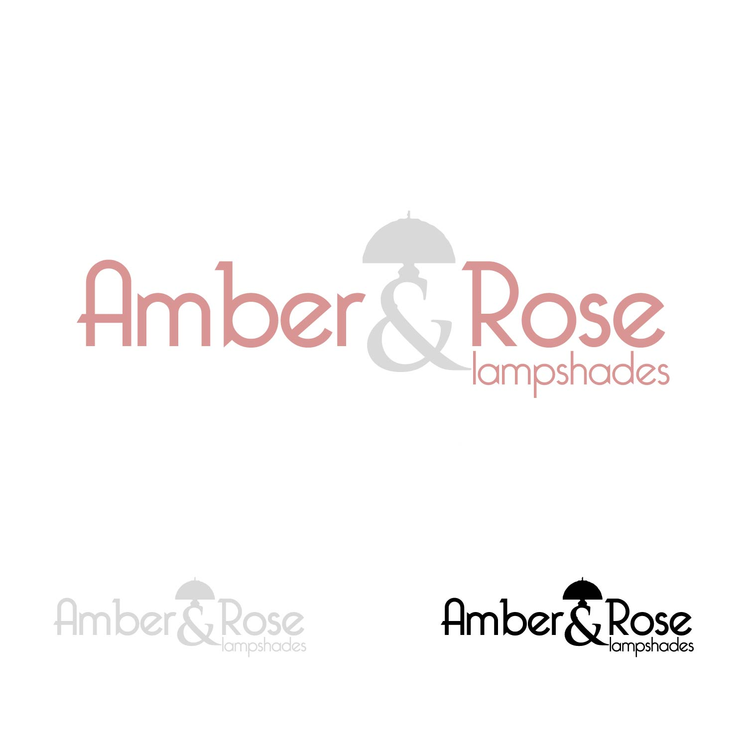 Logo Design by lagalag - Entry No. 28 in the Logo Design Contest Creative Logo Design for Amber & Rose.