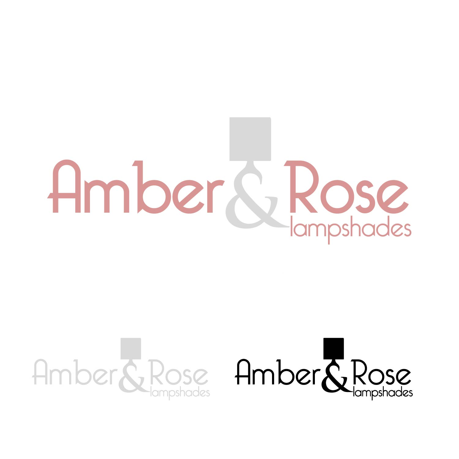 Logo Design by lagalag - Entry No. 29 in the Logo Design Contest Creative Logo Design for Amber & Rose.