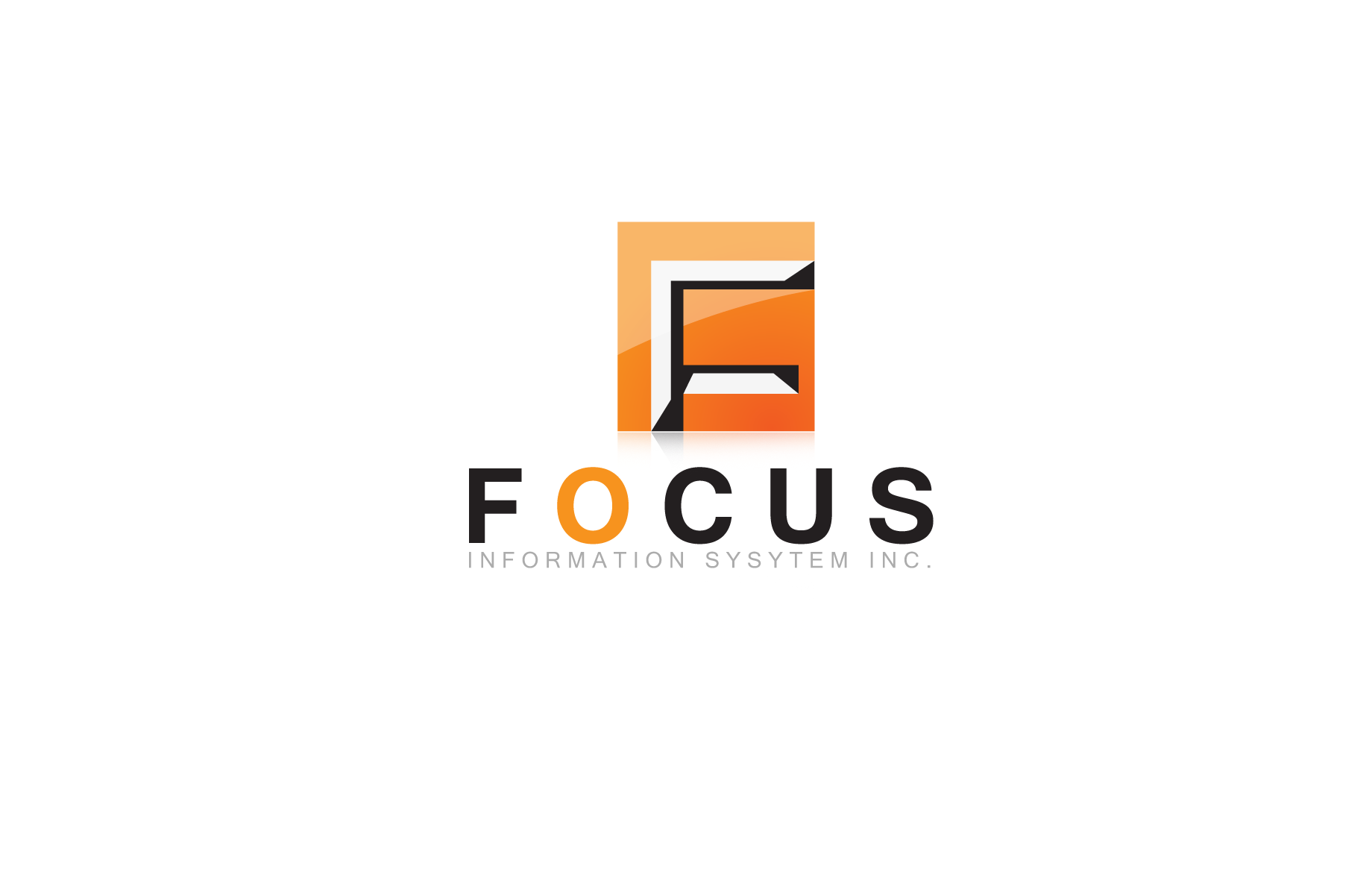 Logo Design by Jan Chua - Entry No. 5 in the Logo Design Contest Artistic Logo Design for Focus Information Systems, Inc..