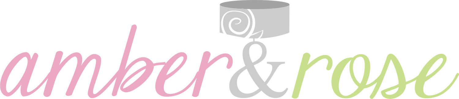 Logo Design by designlot - Entry No. 32 in the Logo Design Contest Creative Logo Design for Amber & Rose.