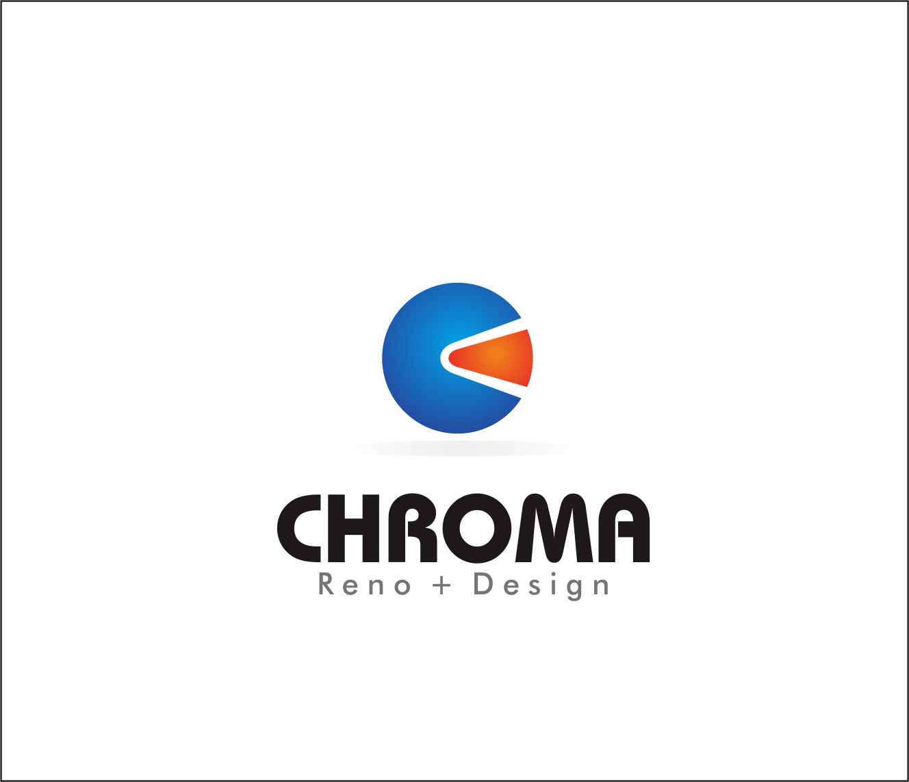 Logo Design by Armada Jamaluddin - Entry No. 201 in the Logo Design Contest Inspiring Logo Design for Chroma Reno+Design.