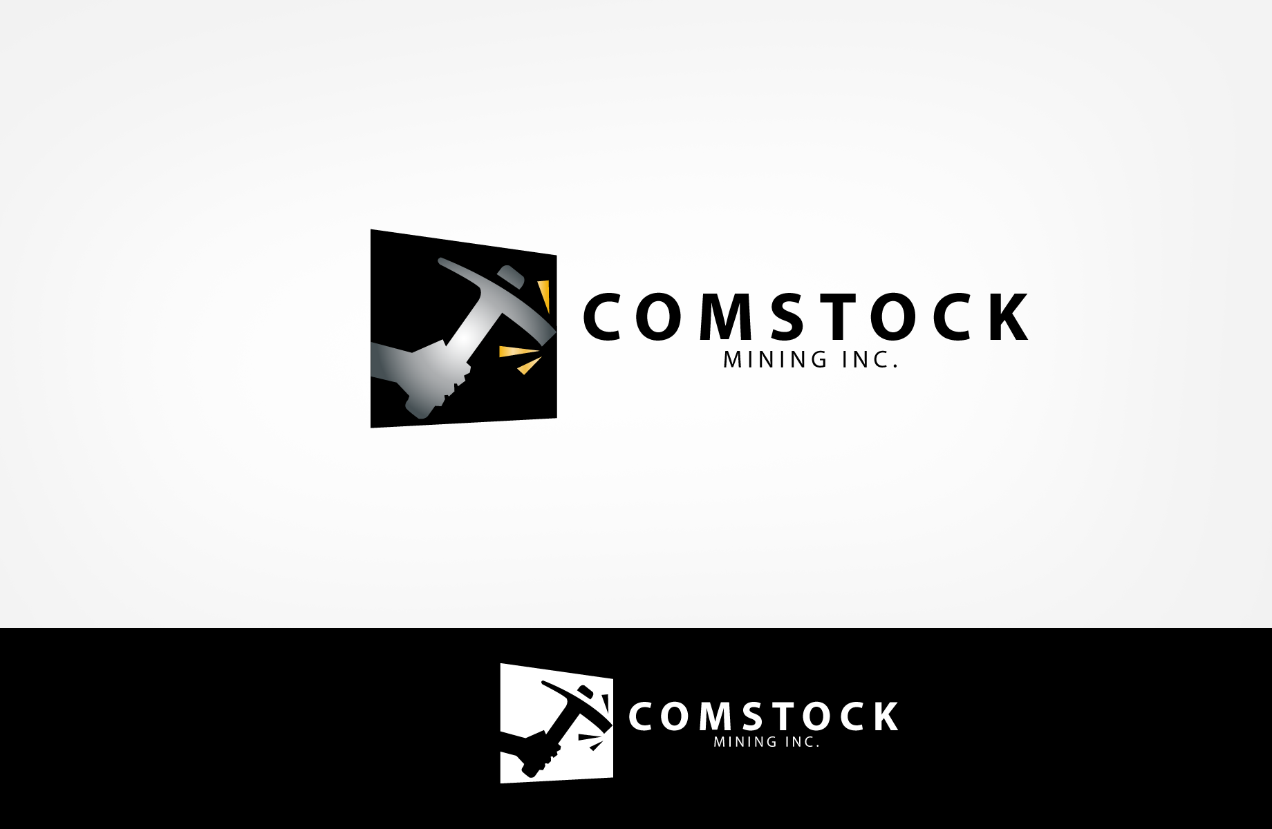 Logo Design by Jan Chua - Entry No. 94 in the Logo Design Contest Captivating Logo Design for Comstock Mining, Inc..