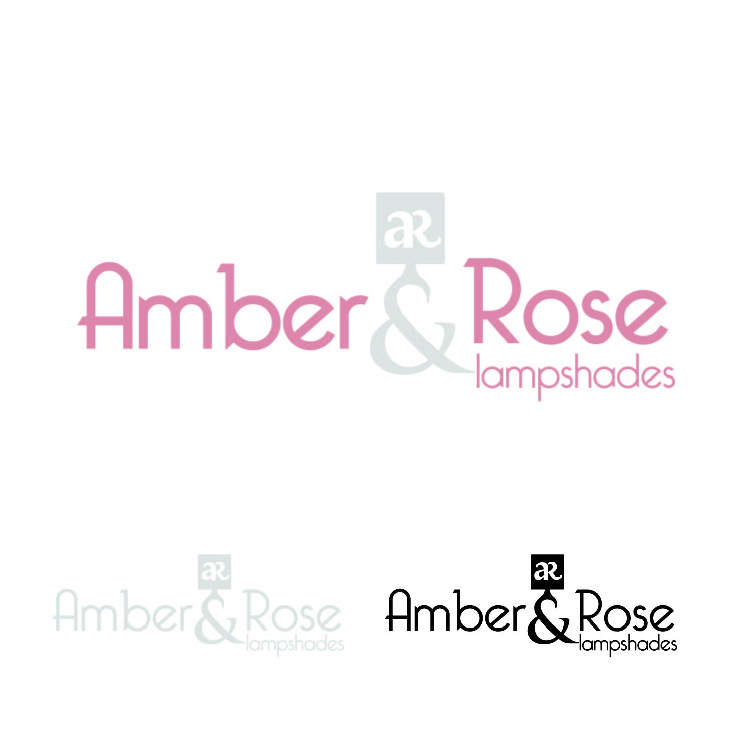 Logo Design by lagalag - Entry No. 34 in the Logo Design Contest Creative Logo Design for Amber & Rose.