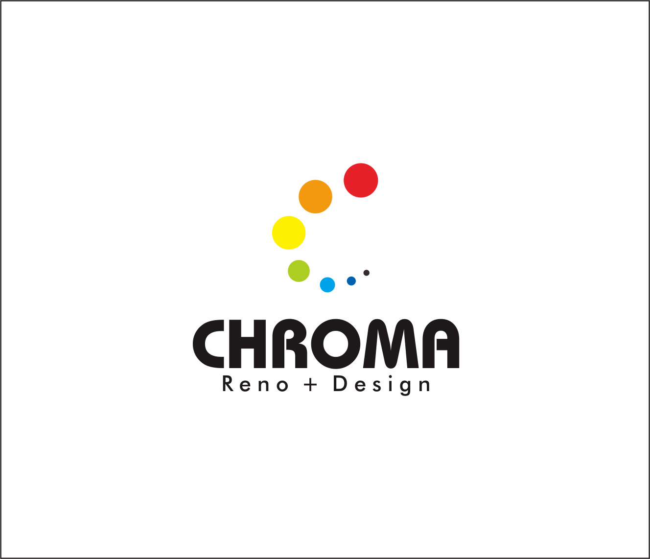 Logo Design by Armada Jamaluddin - Entry No. 204 in the Logo Design Contest Inspiring Logo Design for Chroma Reno+Design.