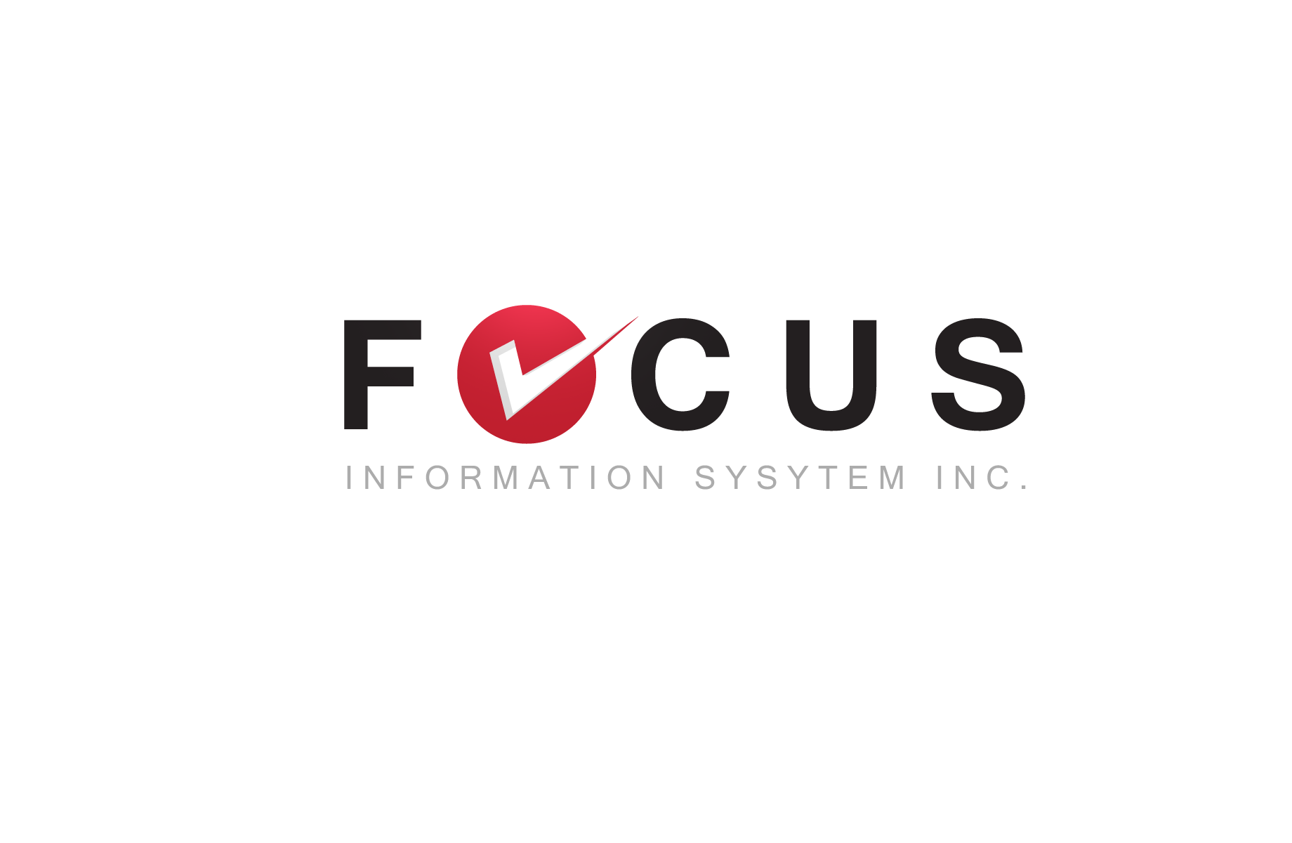 Logo Design by Jan Chua - Entry No. 9 in the Logo Design Contest Artistic Logo Design for Focus Information Systems, Inc..