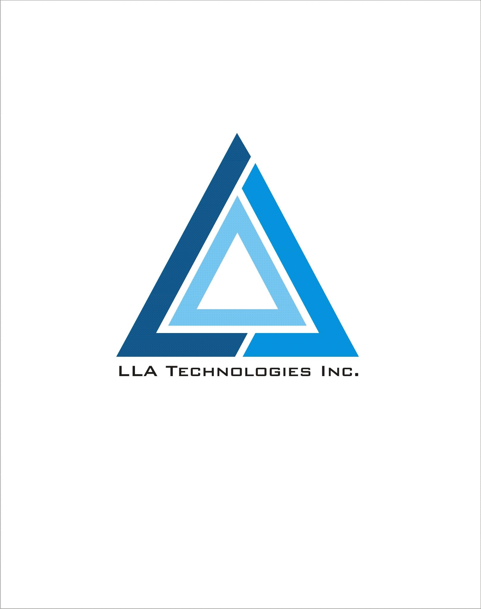 Logo Design by Chandra Sasmita Tommy - Entry No. 132 in the Logo Design Contest Inspiring Logo Design for LLA Technologies Inc..
