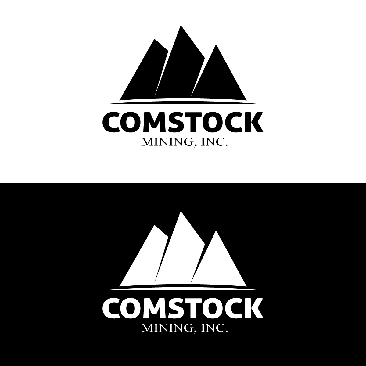 Logo Design by danelav - Entry No. 96 in the Logo Design Contest Captivating Logo Design for Comstock Mining, Inc..