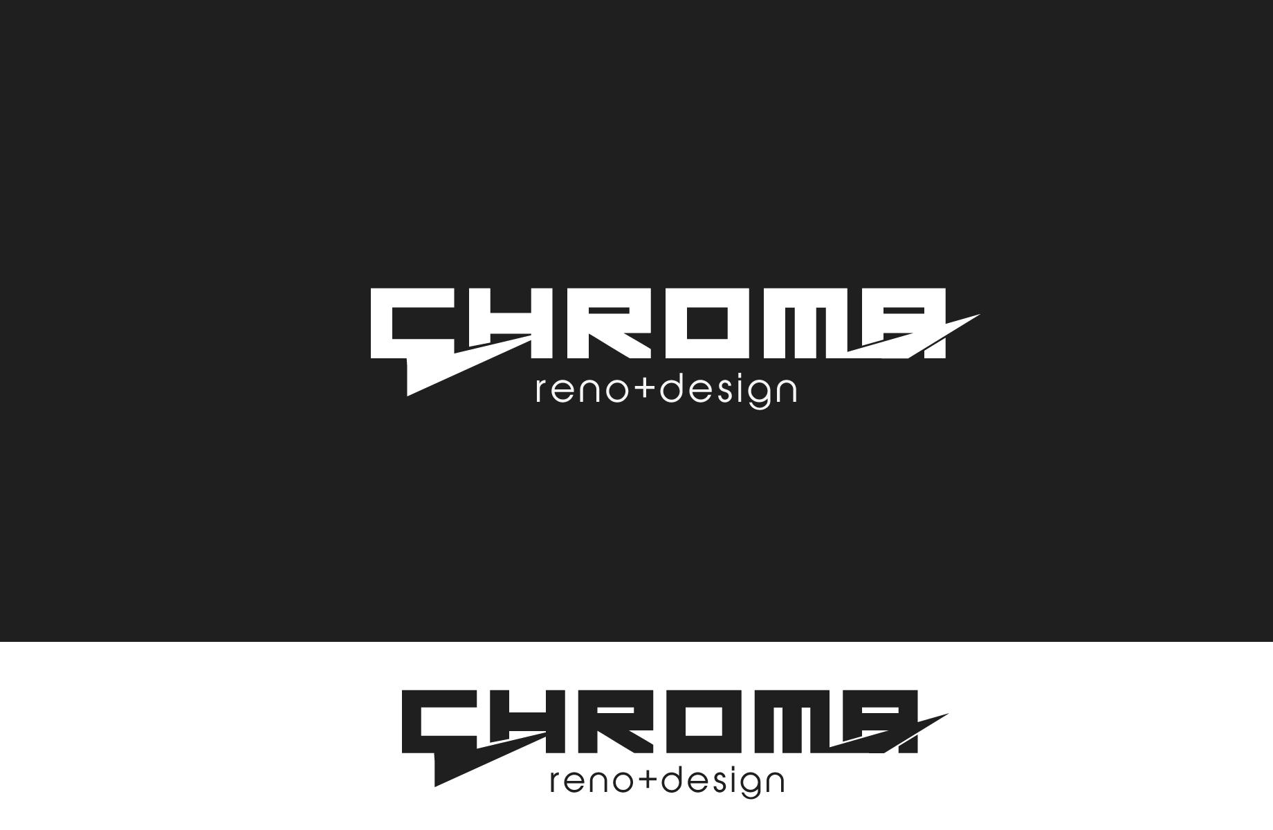 Logo Design by Jan Chua - Entry No. 209 in the Logo Design Contest Inspiring Logo Design for Chroma Reno+Design.